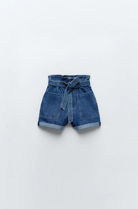 shorts jeans zara tendenza denim estate 2021