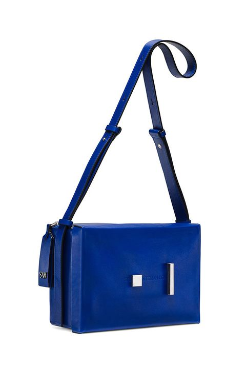 Bag, Cobalt blue, Blue, Electric blue, Handbag, Shoulder bag, Fashion accessory, Satchel, Messenger bag, Tote bag,