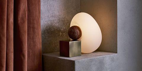 Light, Still life photography, Still life, Room, Lamp, Sphere, Wood, Interior design, Egg, Art,