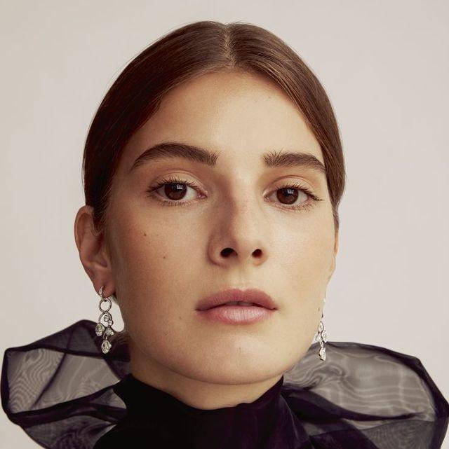 georgia devey smith jewellery shoot harpers bazaar editorial 2018
