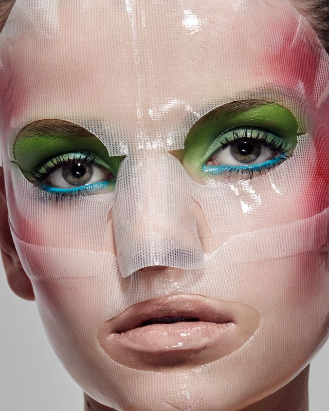 face mask, editorial, beauty