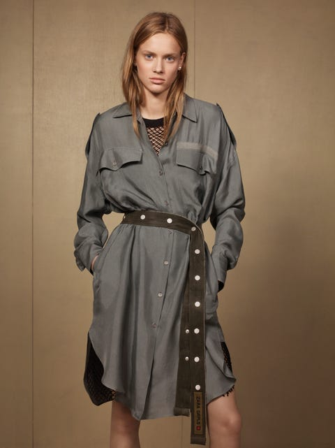 Clothing, Trench coat, Coat, Overcoat, Outerwear, Fashion model, Duster, Fashion, Sleeve, Waist,