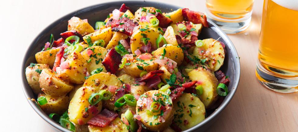 Delish German Potato Salad Recipe