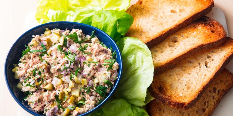 how to prepare tuna salad