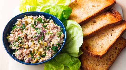 Best Tuna Salad Recipe How To Make Tuna Salad