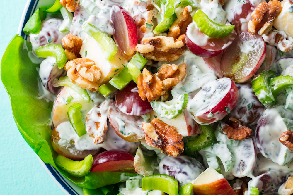 Best Waldorf Salad Recipe How To Make Waldorf Salad