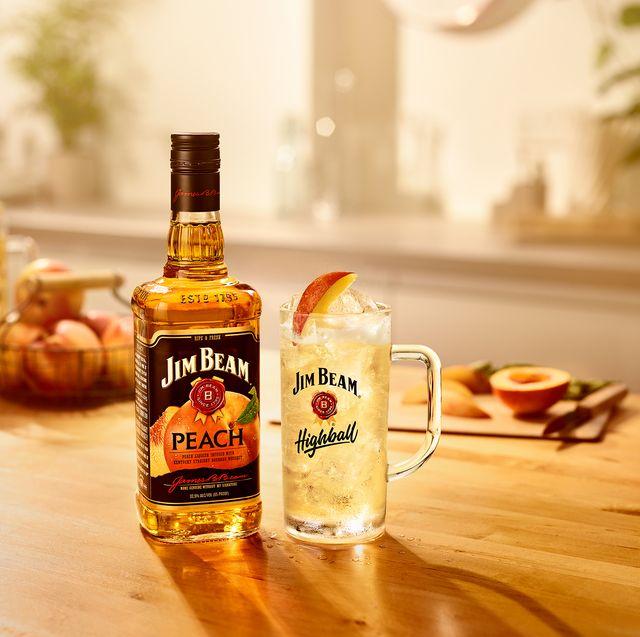 jim beam peach bourbon whisky