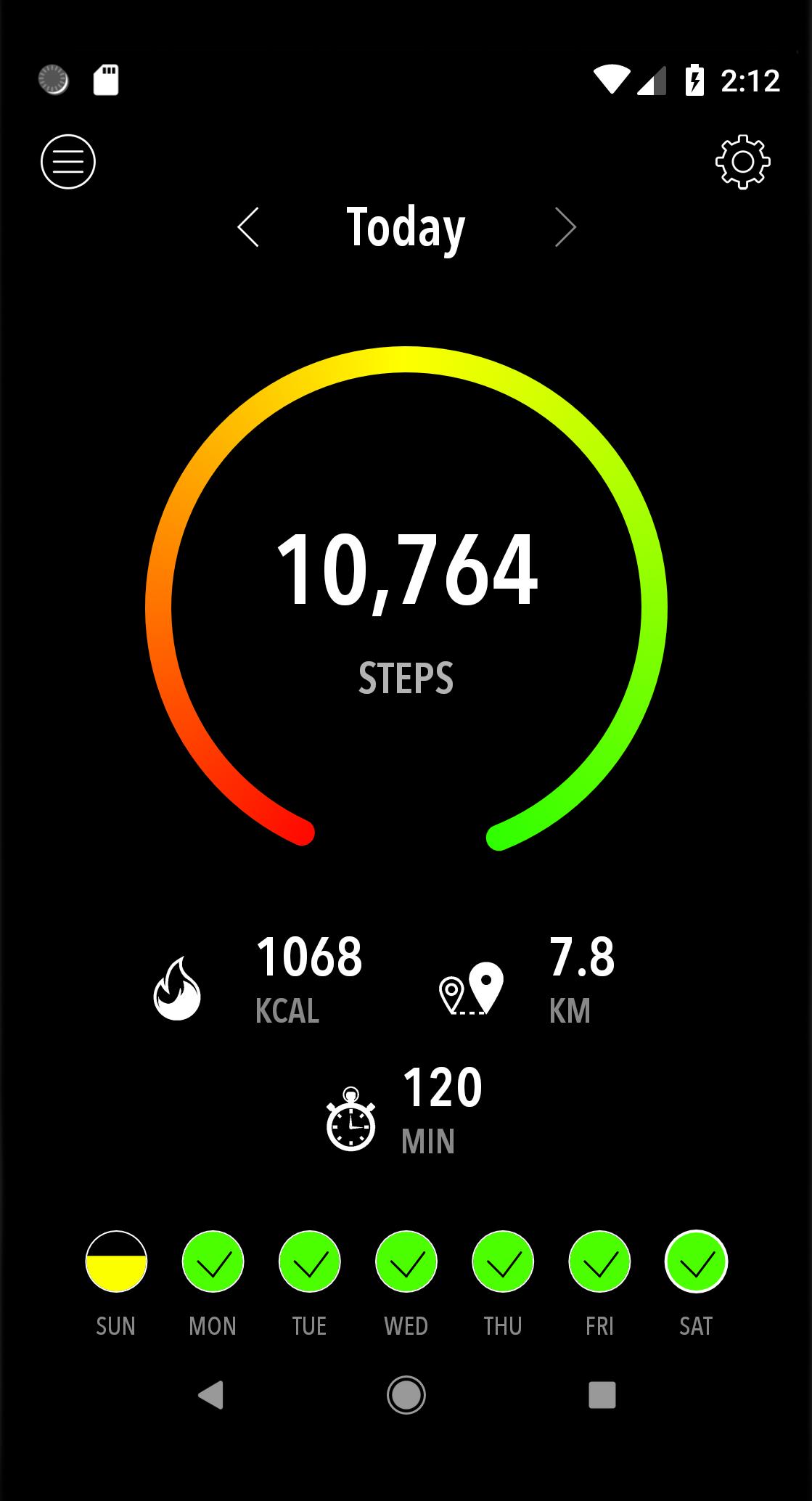 ActivityTracker pasos apps de ejercicio y deportivas