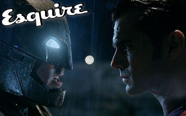 dcコミックス, バットマン, スーパーマン, ヒーロー, バットマン vs スーパーマン ジャスティスの誕生, エスクァイア, esquire