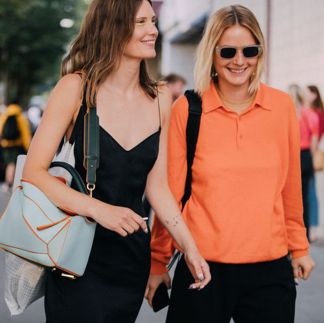shoulder bag parijs streetstyle