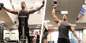 ejercicios hombro gym