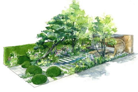 Morgan Stanley Garden at Chelsea Flower Show