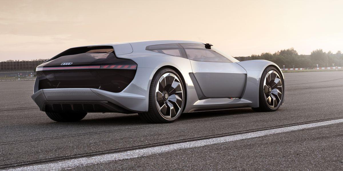 Porsche Long Beach >> Audi PB18 e-Tron: A Gorgeous 760-HP Electric Shooting Brake Concept