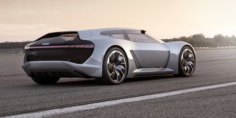 Audi Pb18 E Tron A Gorgeous 760 Hp Electric Shooting Brake Concept