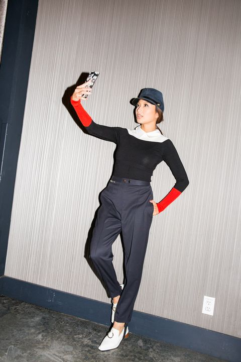 Clothing, Sportswear, Joint, Footwear, Leg, Photography, Costume, Dance, Shoe, Photo shoot,