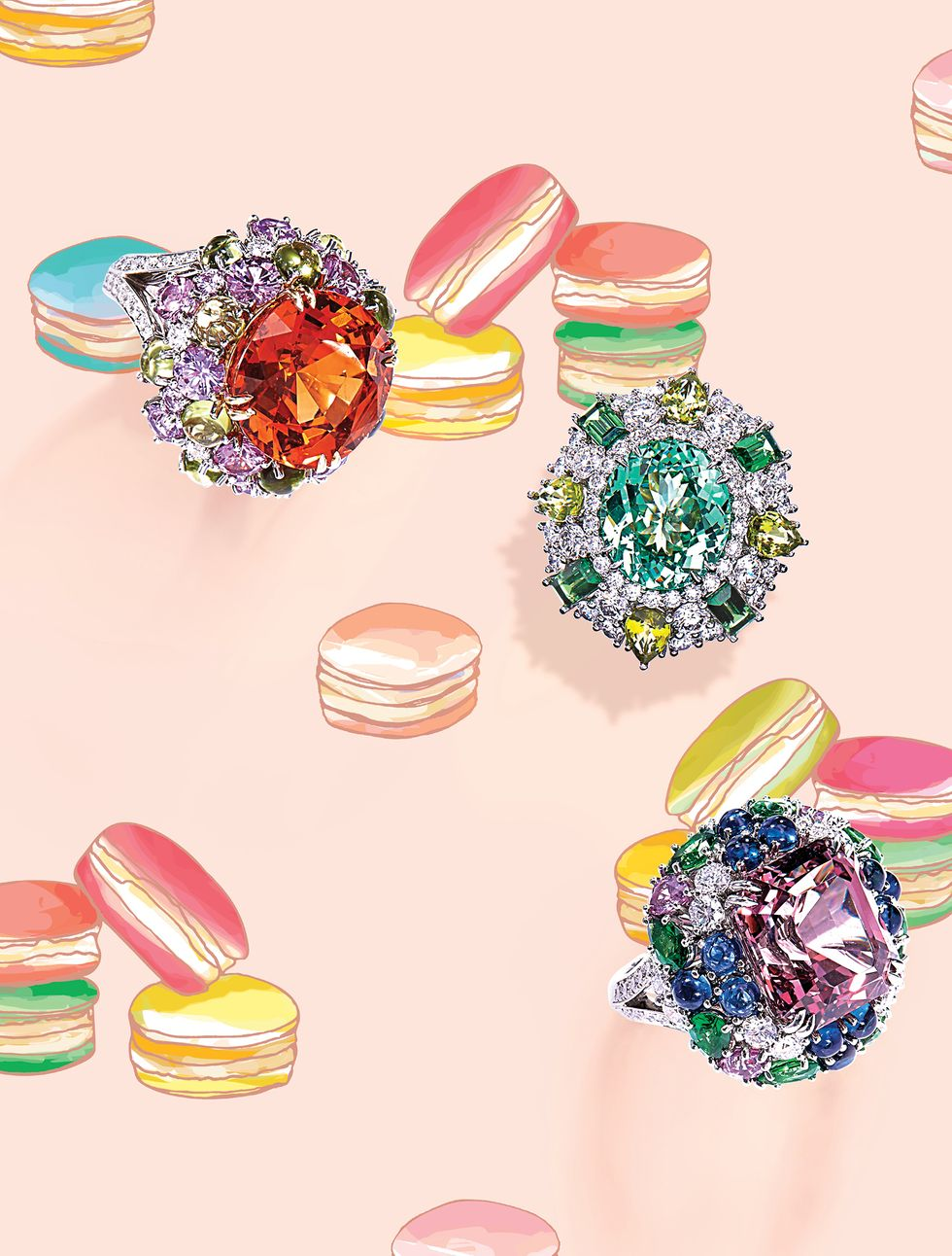 Harry Winston's Latest Jewelry Collection Will Give You a Sugar High!