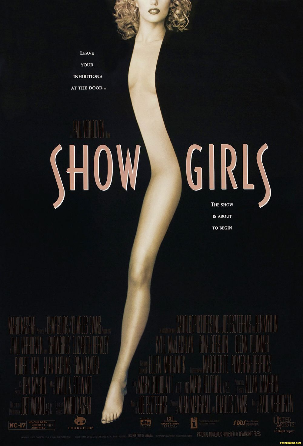 Showgirls (1995) This so-bad-it's-good cult-classic follows Elizabeth Berkley (yup, Jessie from Saved By The Bell ) as Nomi as she arrives in Las Vegas with a dream of becoming a dancer. She works her way through a seedy world of stripping and prostitution (there's A LOT of nudity ), and begins to question whether the life of a showgirl—and what it takes to become one—is truly desirable.