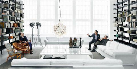 A Milano il nuovo showroom di De Padova con Boffi
