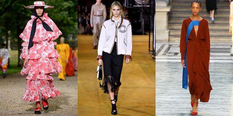 Fashion model, Fashion, Clothing, Runway, Street fashion, Footwear, Fashion show, Outerwear, Spring, Haute couture,