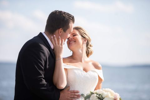 Photograph, Bride, Romance, Ceremony, Wedding, Wedding dress, Gown, Bridal clothing, Dress, Honeymoon,