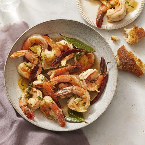 Shrimp and Garlic Sauce