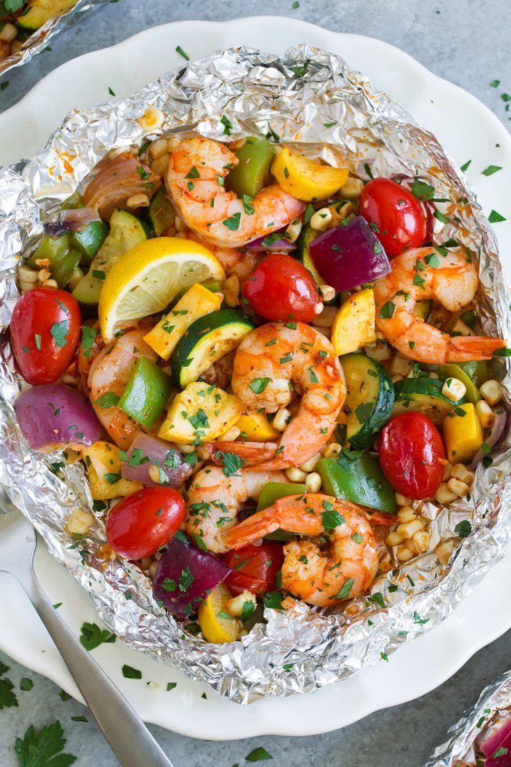 shrimp foil packets summer
