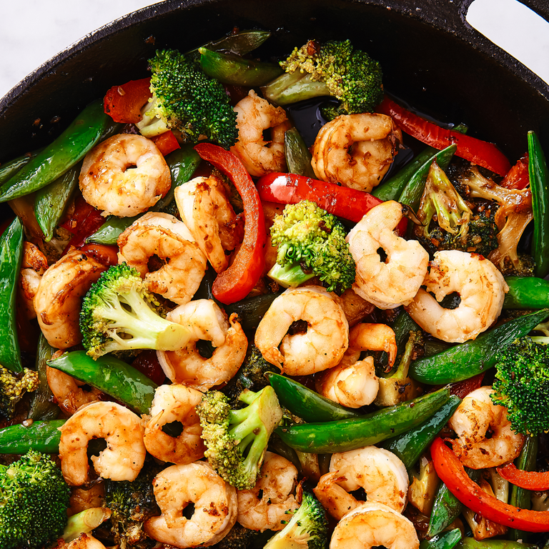 45 Healthy Shrimp Recipes Low Calorie Shrimp Dinners Delish Com