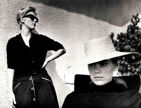 Photograph, Eyewear, Black-and-white, Photography, Headgear, Monochrome photography, Monochrome, Glasses, Sunglasses, Stock photography,