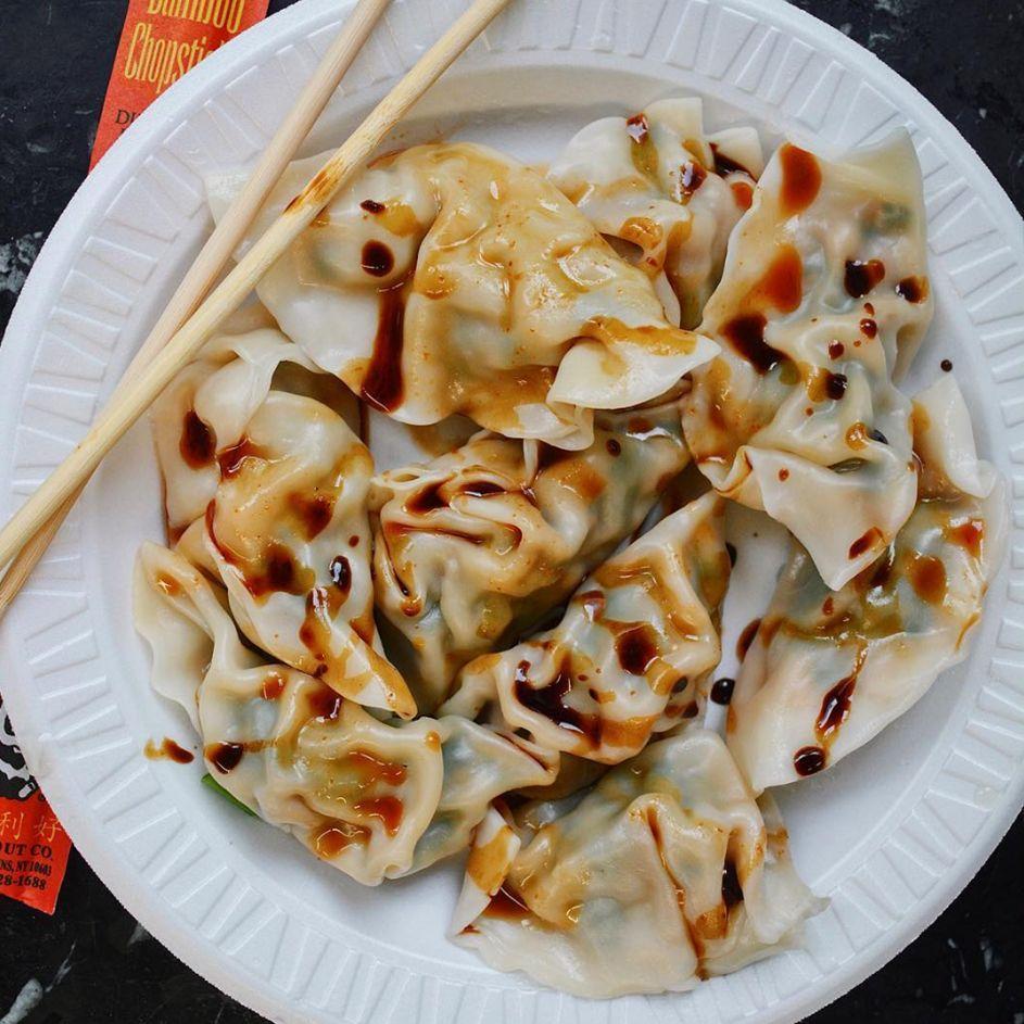 Shu Jiao Fu Zhou dumplings