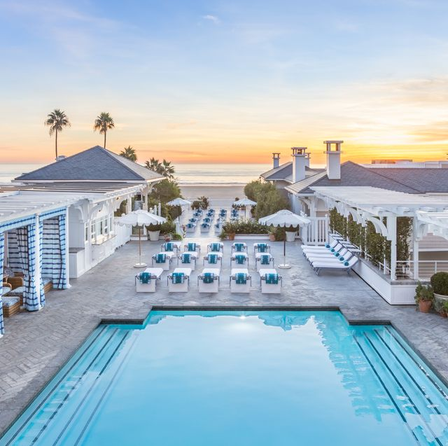 pool at shutters by the sea in santa monica california