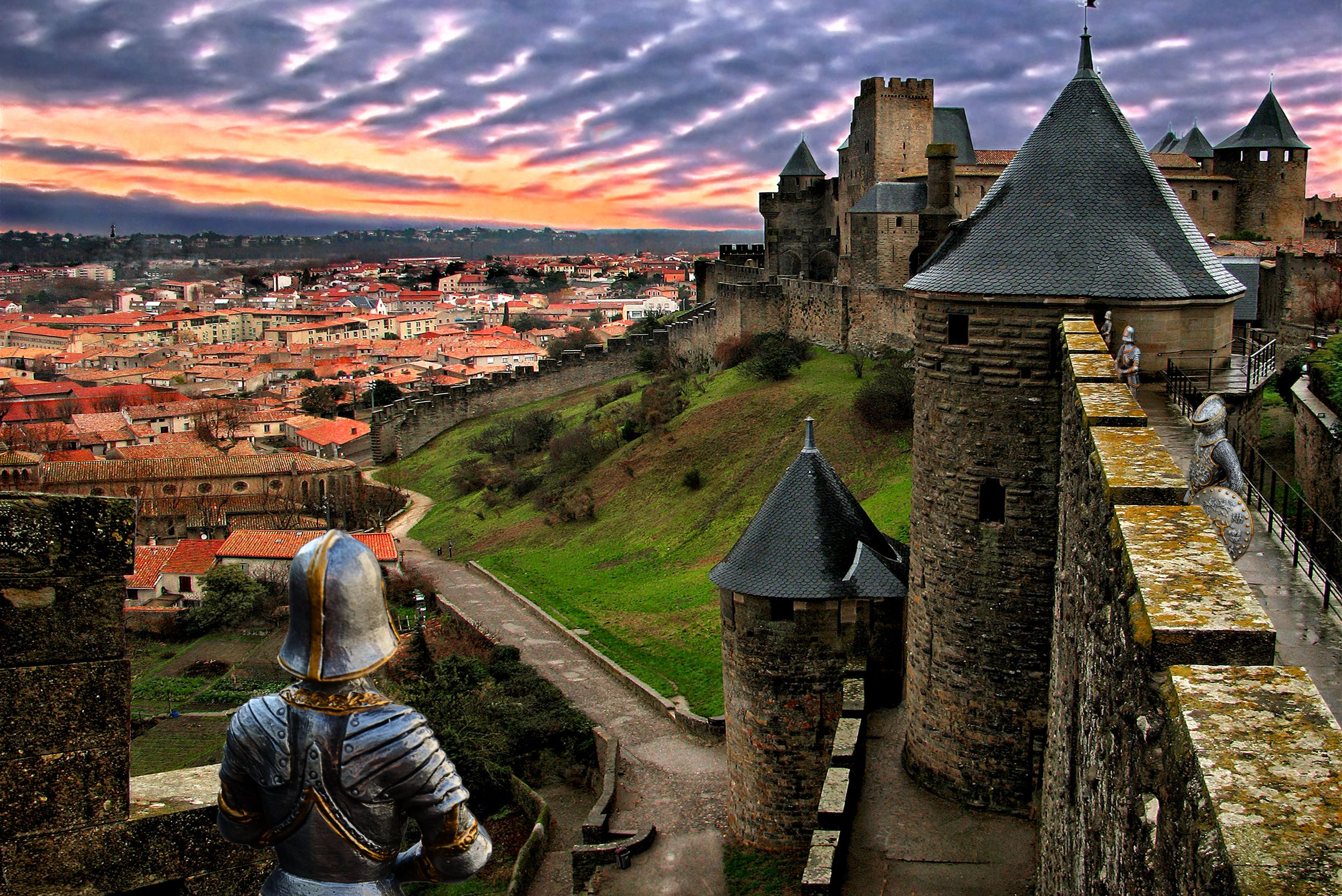 Join Labyrinth's Kate Mosse on a tour of magical Carcassonne