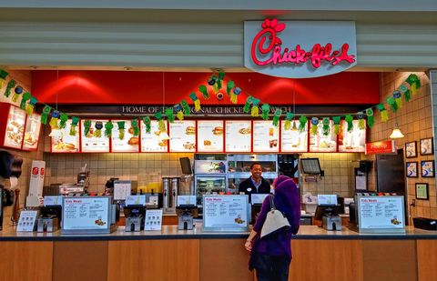 Chick-Fil-A Ordering