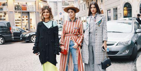 Street fashion, Fashion, Clothing, Snapshot, Photography, Dress, Outerwear, Footwear, Vehicle, Fashion design,