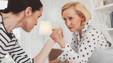 Ga nooitde strijd aan met je schoonmoeder
