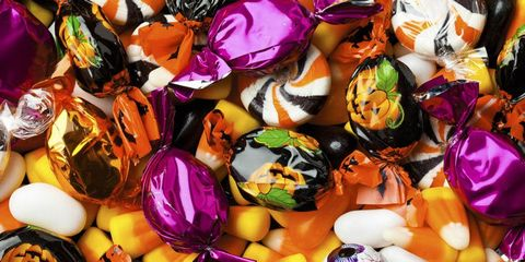 halloween candy assorted