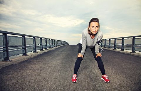 running works when at rest