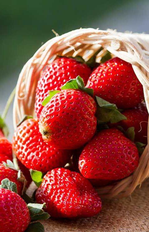 strawberries vitamin c