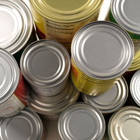 Dented Canned Goods