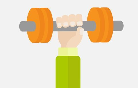 Weight lifting reps
