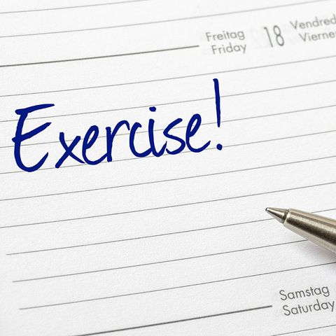 schedule exercise