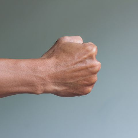 Make a fist
