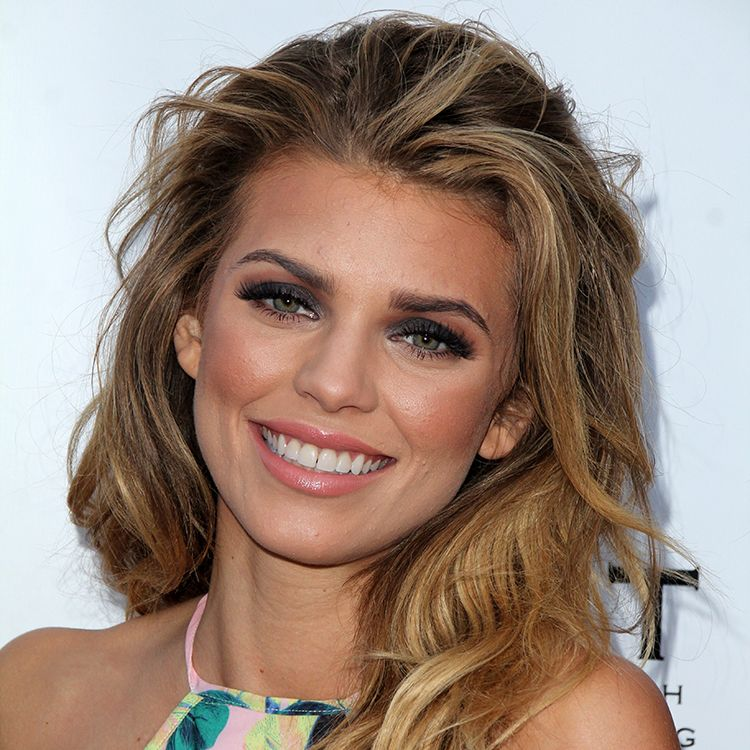 "AnnaLynne McCord ""I happen to unfortunately have adult acne,"" she said in a red carpet interview with MaximoTV . ""I don't want anyone who might like me or look up to me for any reason to think less of themselves because they have blemishes and someone is giving me crap for having them. Let's quit the standard of perfection. We're not perfect, we're human."""