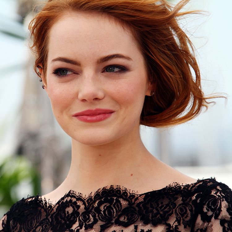 "Emma Stone In an interview with Refinery29, Emma revealed that she went on Accutane at 17 for a while and that when she filmed Easy A , her stress-related acne was actually airbrushed out of the film. ""I realized how debilitating and embarrassing it can be to have cystic acne,"" she said."