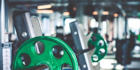 Weight lifting rack