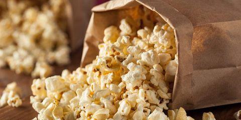 carbs popcorn