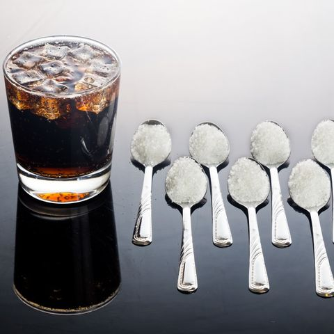 Sugar in soda