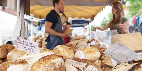 bread at market