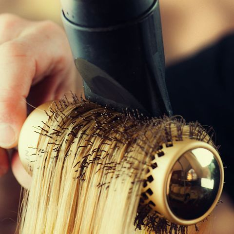 blow dry too close