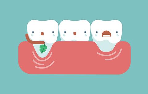 bone weakness teeth