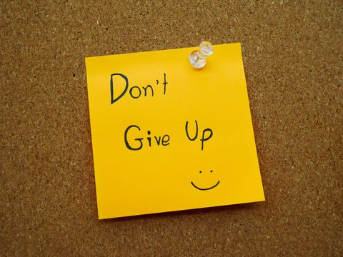optimists don't give up
